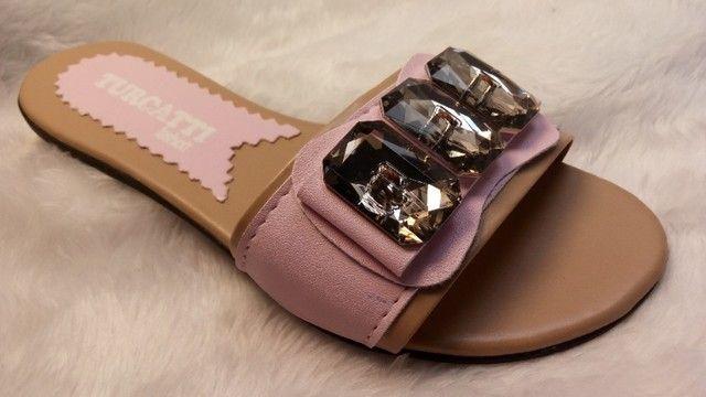 kits 12 pares de rasteirinhas sandalia atacado revenda e sacoleiras  - Foto 4