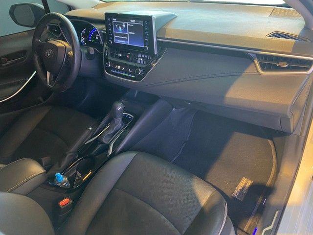 Toyota Corolla Altis 1.8 Hybrid 2020,Configuração Linda,Impecável  - Foto 8