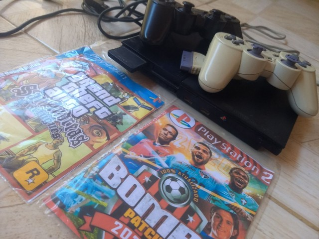 Vende se Playstation 2 por 200 Reais ZAP * - Foto 4