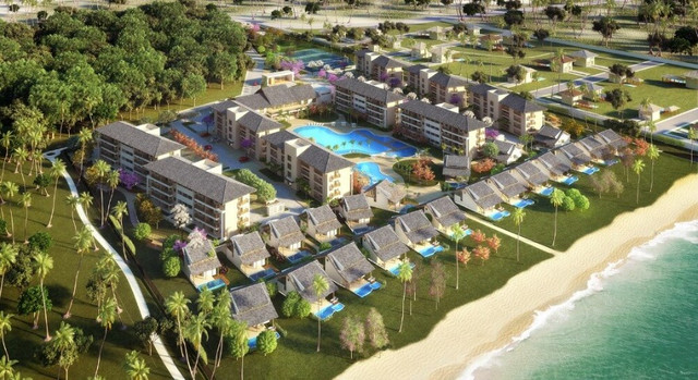 MLS-Bangalô Beach Class Eco Life 4 quartos pronto à beira mar de Muro Alto