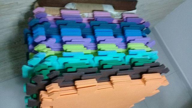 Placas em EVA com acabamentos. - Foto 2