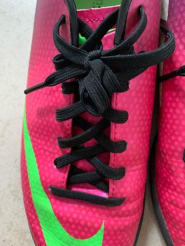 Chuteira Nike Feminina Rosa Original  - Foto 6