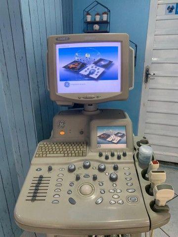 Ultrassom GE Logic 5 expert (3 sondas - Perfeito) - Foto 2