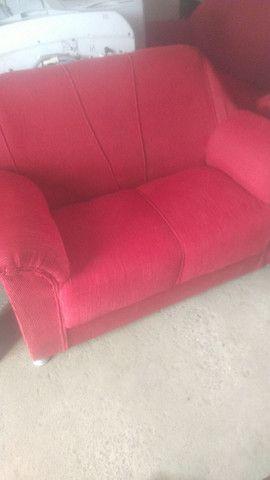 Um jogo de sofá semi novo  - Foto 2