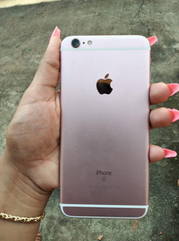 Vendo iPhone 6s Plus rose 32GB Biometria ok iCloud ok! Saúde da bateria 89%