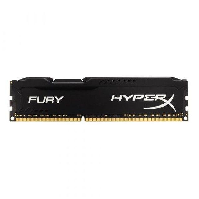 Memória Ram Fury Color Preto 8gb DDR3 1x8gb Hyperx