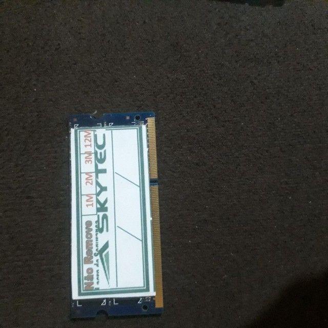 Memória de notebook ddr3 2gb  - Foto 2