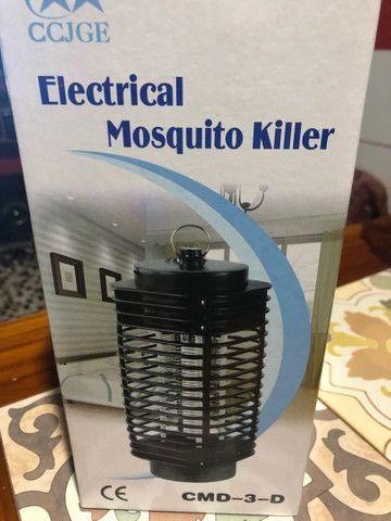 Luminária Repelente mata mosquito e insetos