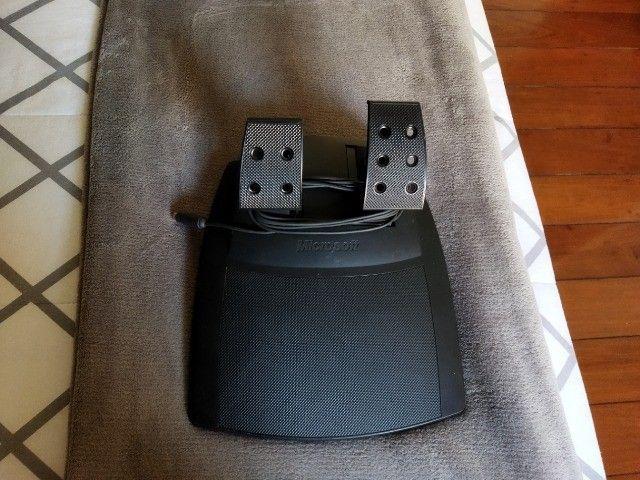 Volante jogos Microsoft SideWinder Force Feedback Wheel - R$350,00/unidade - 3 unidades - Foto 4