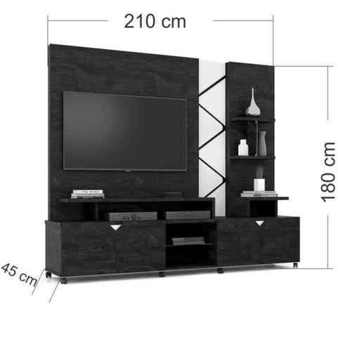 """Home Cross com LED para Tv até 55"""" - Entrega Grátis - Foto 6"""