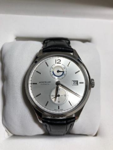 e6245156216 Relógio Montblanc Heritage Chronométrie Dual Time