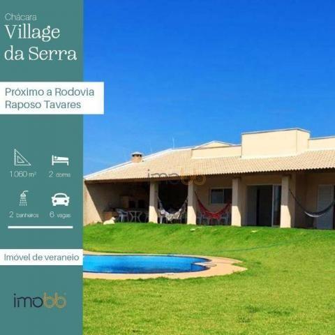 Chácara residencial à venda, Village da Serra, Araçoiaba da Serra - CH0026.