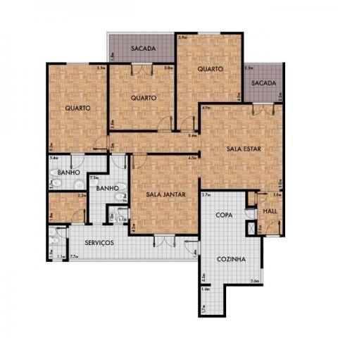 Apartamento amplo na Av. São Luis, 4 quartos