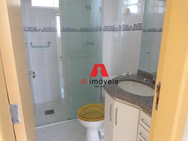Apartamento com 3 dormitórios para alugar, 82 m² por r$ 1.850,00/mês - 7º bec - rio branco - Foto 12