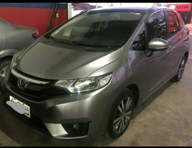 Honda Fit EX 1.5 // Automático - CVT // Bco. de couro !