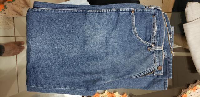 4 Calças Jeans de Cowboy em Perfeito Estado