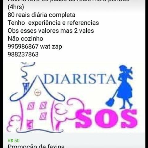 Faxina apartir de 50 reais