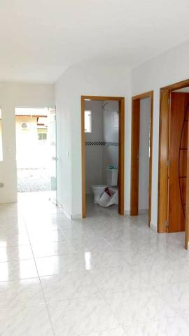 Casa nova c/ 2 quartos, próx. a Ponte Pênsil de Barra Velha, fácil entrada e financiamento - Foto 3