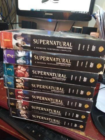 Vendo Box dvd Supernatural e Smallville