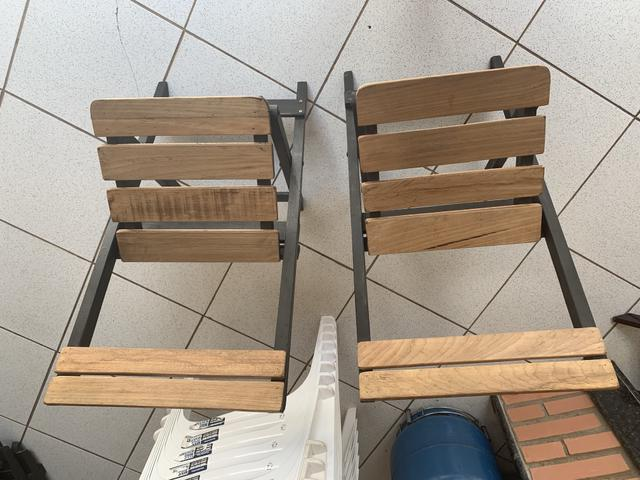 Cadeira dobráveis novas