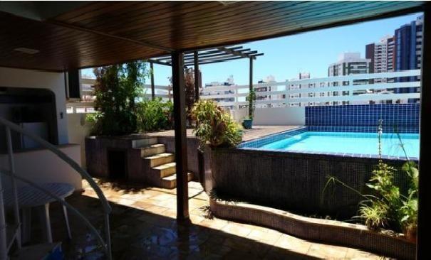 FZ00013 - Cobertura na Pituba 03 quartos com piscina - Foto 2