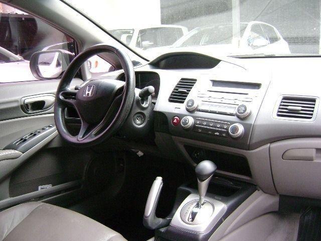 Honda Civic LXS 1.8 16V (Aut) (Flex) 2007/2008 - Foto 9