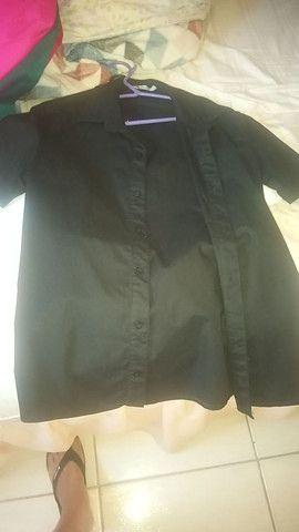 Camisa Social tamanho P - Pargan