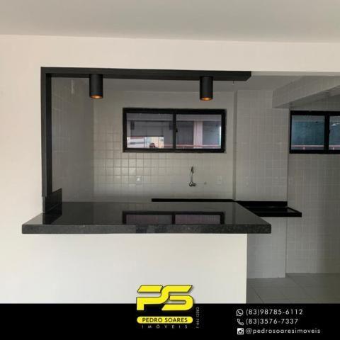 Apartamento com 3 dormitórios à venda, 90 m² por R$ 399.000,00 - Bessa - João Pessoa/PB - Foto 6