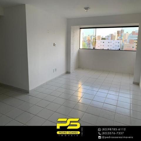 Apartamento com 3 dormitórios à venda, 90 m² por R$ 399.000,00 - Bessa - João Pessoa/PB - Foto 10