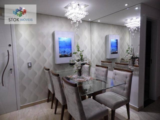 Apartamento com 3 dormitórios à venda, 67 m² por R$ 388.500 - Vila Augusta - Guarulhos/SP - Foto 20
