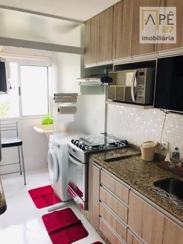 Apartamento 100% mobiliado com 2 dormitórios para alugar, 47 m² por R$ 1.850/mês - Ponte G - Foto 5