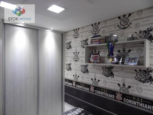 Apartamento com 3 dormitórios à venda, 67 m² por R$ 388.500 - Vila Augusta - Guarulhos/SP - Foto 17