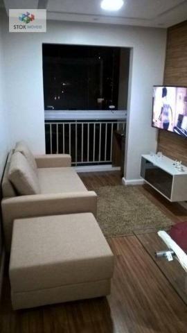Apartamento com 2 dormitórios à venda, 50 m² por R$ 255.000,00 - Jardim Cocaia - Guarulhos - Foto 2
