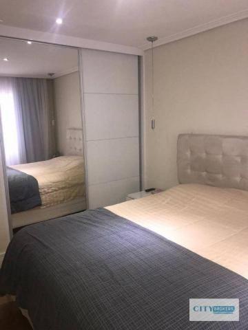 Apartamento com 2 dormitórios à venda, 62 m² por R$ 350.000,00 - Ponte Grande - Guarulhos/ - Foto 3