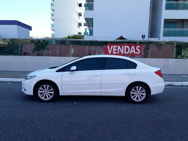 Honda Civic LXS 1.8 flex, automático, Branco, super novo - Foto 10