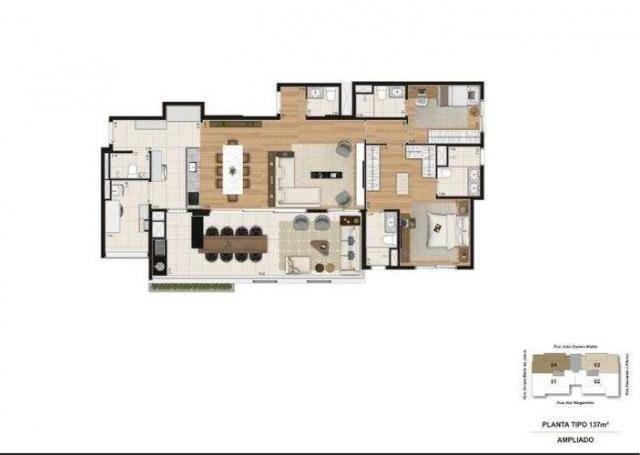 Quartier Brooklin - 137m² - Brooklin, SP - ID17646 - Foto 12