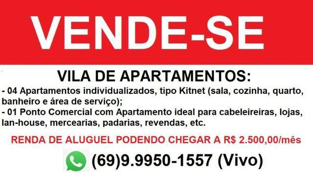 Prédio Comercial com Vila de Apartamentos a Venda - Leia o anúncio!!!! - Foto 2