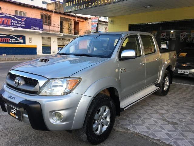 Toyota Hilux SRV 3.0 Turbo 4X4 Aut 2011 R$ 76.900,00 - Foto 7