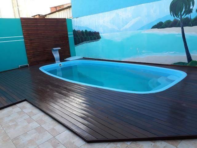 Deck Itauba em piscinas