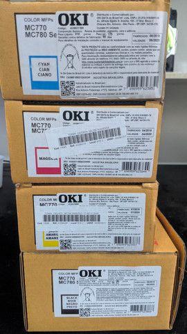 Kit 4 Cores OKI MC770 / MC780