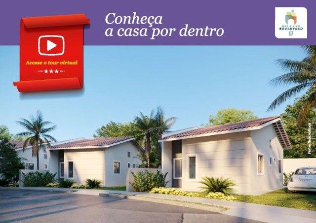 62# Casas com 54M² em condomínio com academia e...