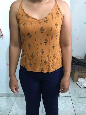 Blusa ombro e blusa cacto  - Foto 4