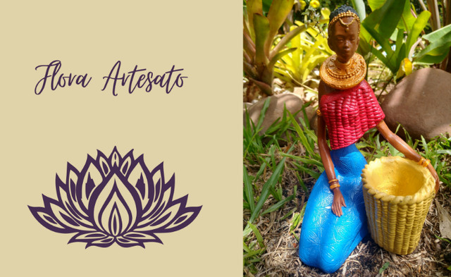 Boneca Africana - Negra