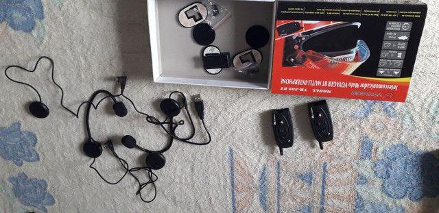 Intercomunicador Moto Voyager BT Multi-Interphone - Foto 4