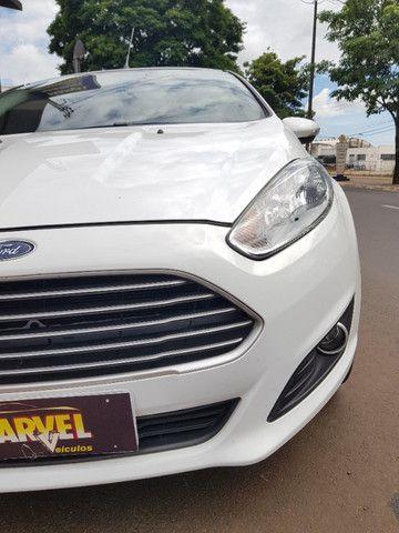 Ford Fiesta hatch 1.6 flex automático completo - 2014 - Foto 3