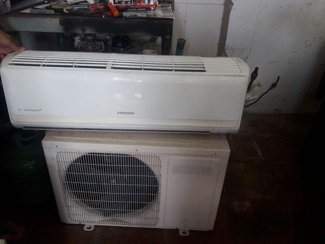 Ar condicionado 18m btus só frio 220w  - Foto 2