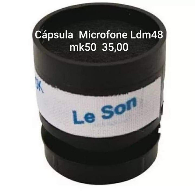 Cápsula Microfone Leson Ldm48 mk50