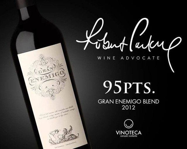 Vinho da Argentina Gran Enemigo Blend - Foto 2