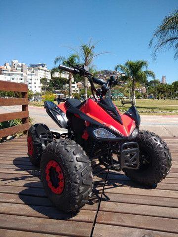 Quadriciclo Elétrico 1000w - Vermelho / Novo - Foto 3
