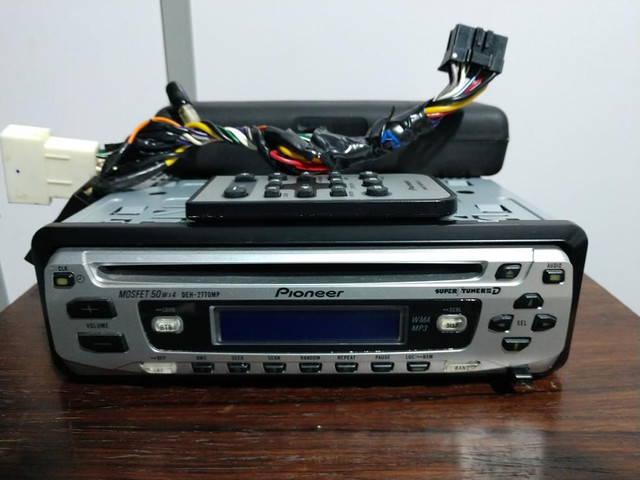 2 CDs Player 1 Pioneer 1 Sony. Perfeitos!  - Foto 4